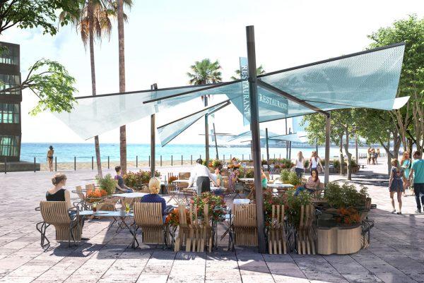 Barcelona's terraces